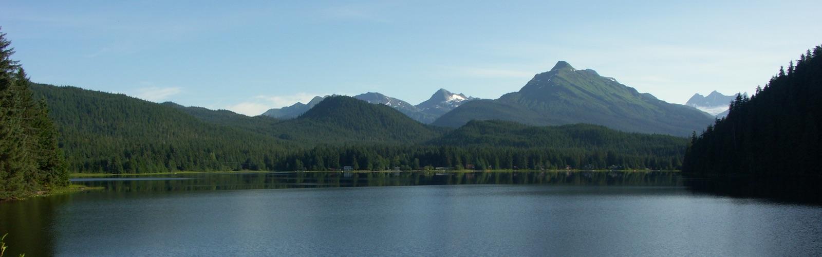 Auke Lake Juneau Alaska