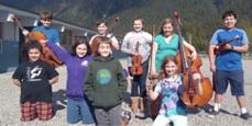Older Children in Music Program